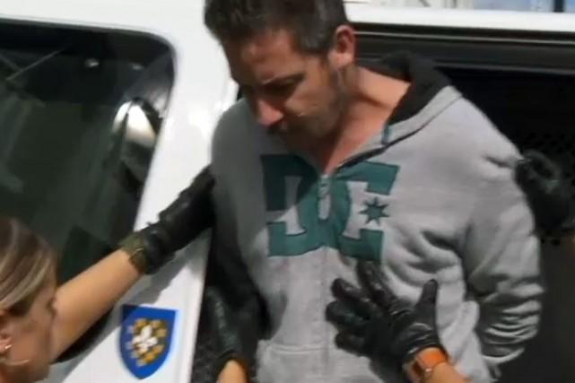 Alexandre Gendron, le conjoint de Cheryl Bau-Tremblay, accusé... (Photo fournie par CTV)
