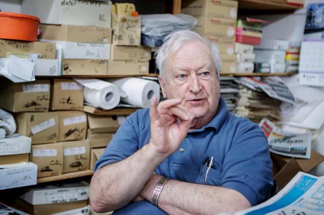 Yves Gervais, 83 ans, commerçant, propriétaire de Chez... (Photo Alain Roberge, La Presse)