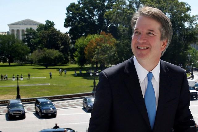 Un seul sénateur républicain votant contre le juge... (PHOTO REUTERS)