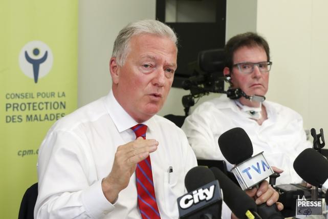 Le Conseil pour la protection des malades a... (Photo Robert Skinner, La Presse)