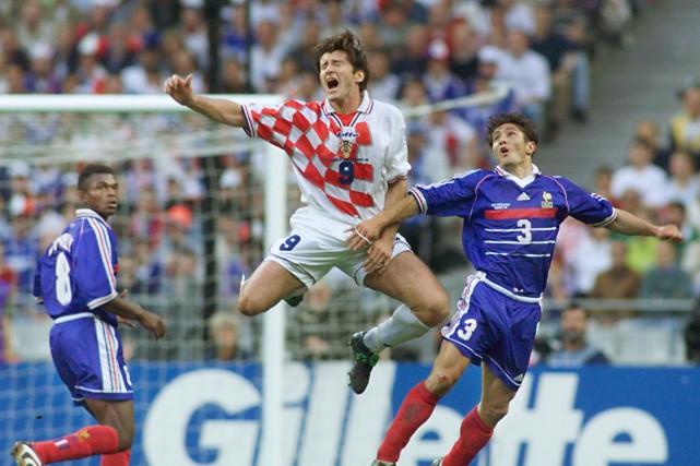 À la Coupe du monde de 1998, la... (Photo Gabriel Bouys, archives AFP)
