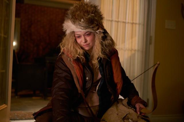 Tatiana Maslany dans une scène d'Orphan Black... (Photo AP)
