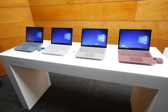 Les livraisons ont progressé au deuxième trimestre de... (Photo Jason DeCrow, AP Images pour Microsoft)