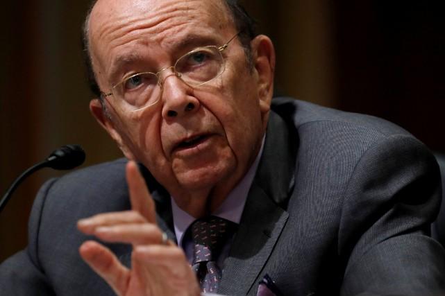 Les reproches adressés à Wilbur Ross concernent ses... (Photo Kevin Lamarque, Archives Reuters)
