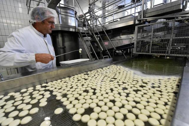 Actuellement, les Mini Babybel sont importés d'usines de... (PhotoJEAN-FRANCOIS MONIER, archives Agence France-Presse)