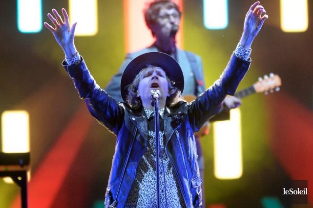 Beck était la tête d'affiche principale de la... (Photo Jean-Marie Villeneuve, Le Soleil)