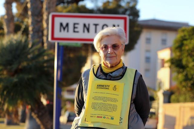 Martine Landry était accusée d'avoir accompagnéle 28juillet2017deux mineurs... (photo Valery HACHE, archives Agence france-presse)