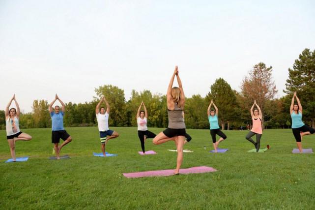 À Longueuil, le studioPassion yoga et cie propose... (photofournie par Passion Yogaet cie)