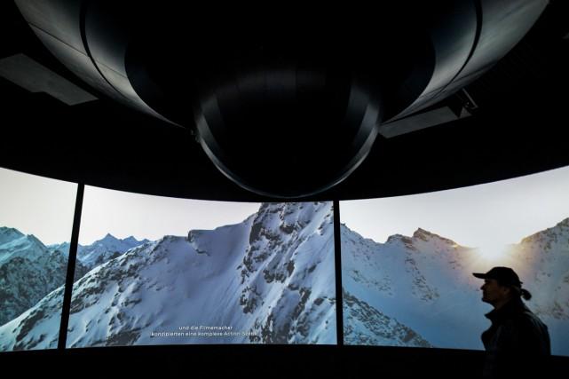 En Autriche, un nouveau musée au design futuriste... (Photo AFP)