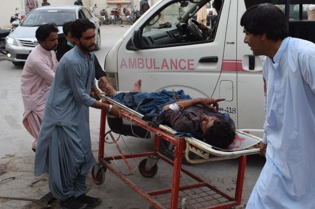 «Le bilan est monté à 85» morts, a... (AFP)