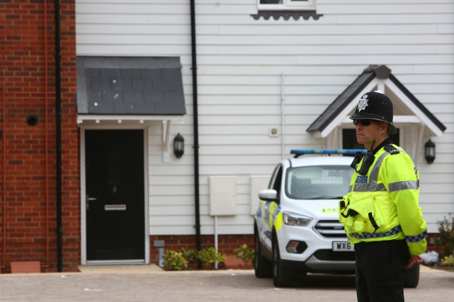 Les autorités britanniques ont invité des experts de... (PHOTO Geoff CADDICK, ARCHIVES AFP)