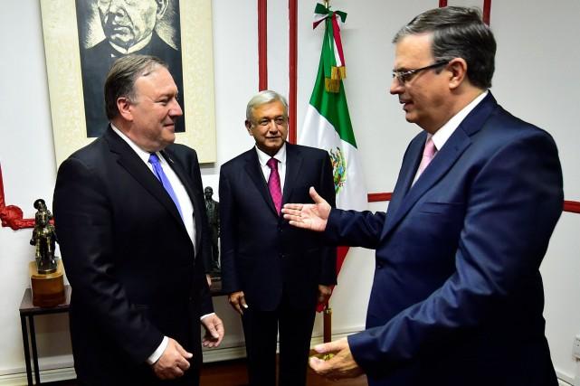 Le secrétaire d'État américain est arrivé à la... (AFP)