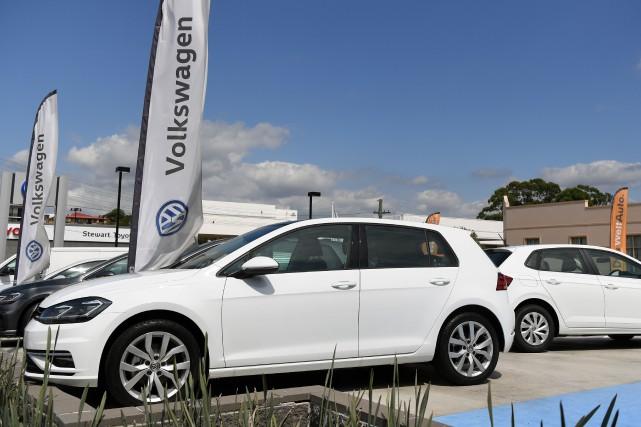 Volkswagen Canada rapporte un taux de réparation de... (photo AFP)