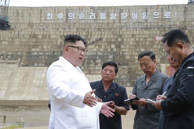 Kim Jong-un fustige les cadres du régime pour leur inefficacité