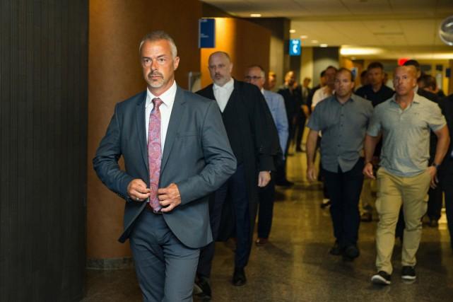 Le juge Pierre Labelle a cité à procès...