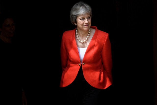 La première ministre britannique Theresa May.... (Photo Brendan Smialowski, AFP)