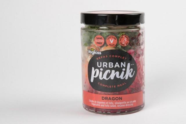 Cette salade dragon d'Urban Picnik est «un très... (PHOTO MARCOCAMPANOZZI, LA PRESSE)