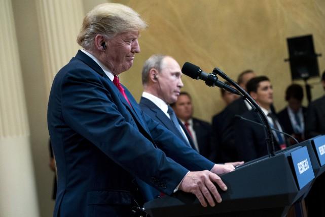 nouvel ordre mondial | Trump veut déjà revoir Poutine et attaque de nouveau les médias