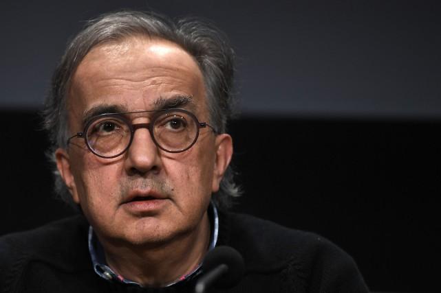 L'emblématique PDG de Fiat-Chrysler et de Ferrari, Sergio... (photo AFP)