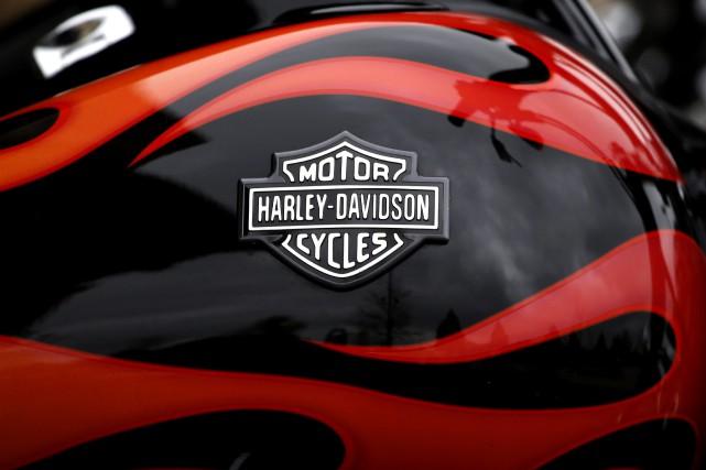 Harley-Davidson a surpassé les attentes des analystes à... (photo AP)
