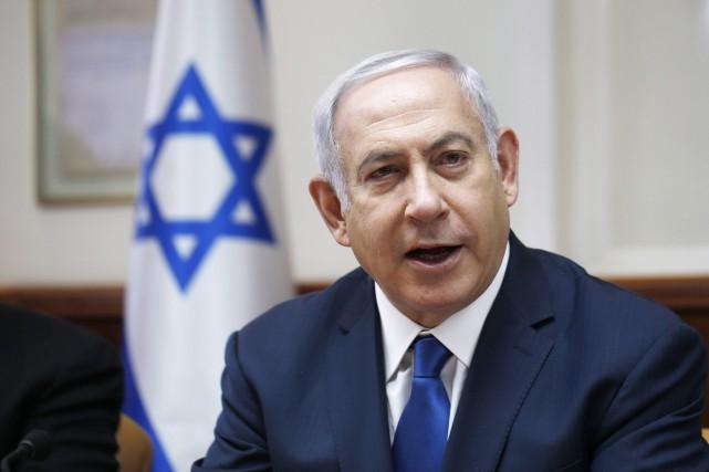 Benyamin Nétanyahou... (Photo Ronen Zvulun, Associated Press)