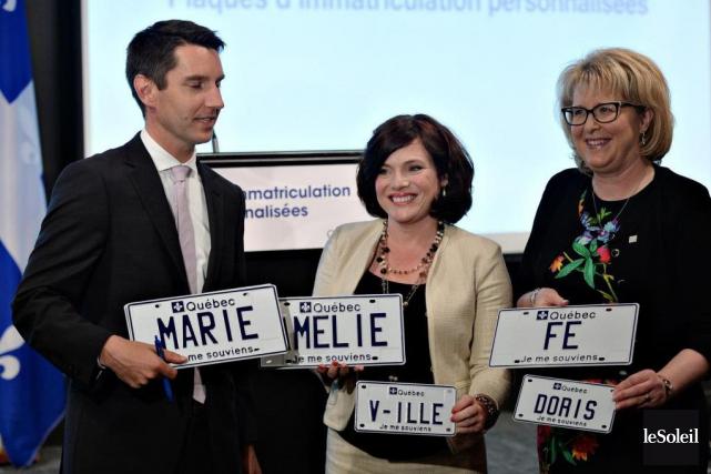 Depuis hier, les automobilistes québécois peuvent commander une... (PhotoErick Labbé, archives Le Soleil)