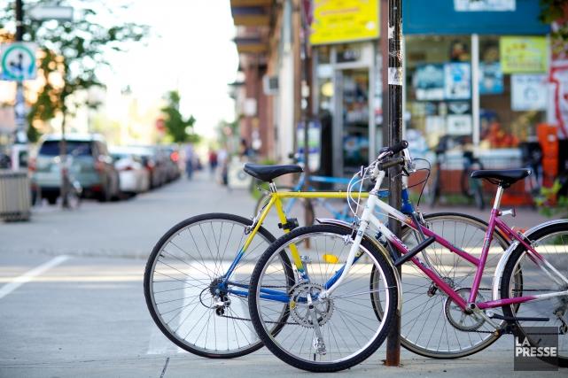 Chaque année, environ 2000 vols de vélos sont... (PHOTO SARAH MONGEAU-BIRKETT, ARCHIVES LA PRESSE)