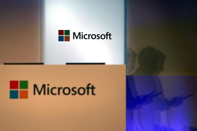 La Presse a appris que Microsoft s'est entendue... (photoPichi Chuang, archives reuters)
