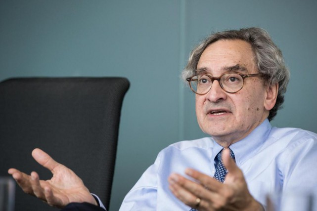 Michael Sabia, grand patron de la Caisse de... (Photo Hugo-Sébastien Aubert, La Presse)