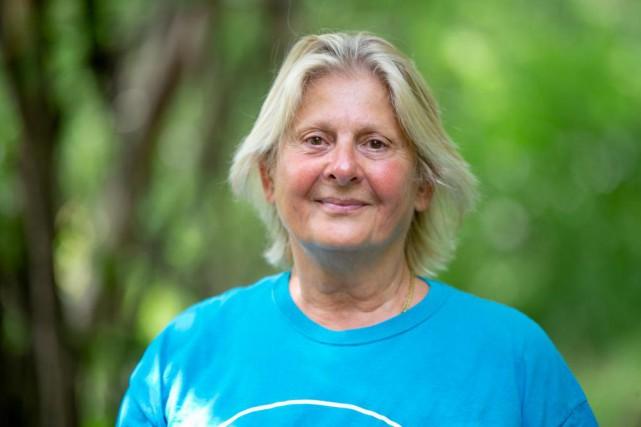 Simona Carta, 68ans,Dollard-des-Ormeaux... (Photo David Boily, La Presse)