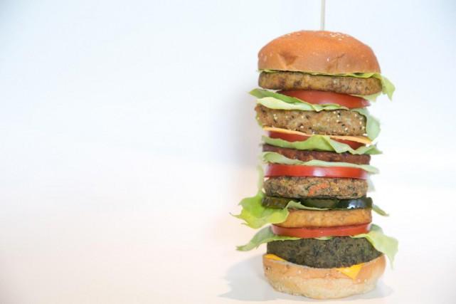 Un burger végétarien peut être une bonne solution... (Photo François Roy, La Presse)