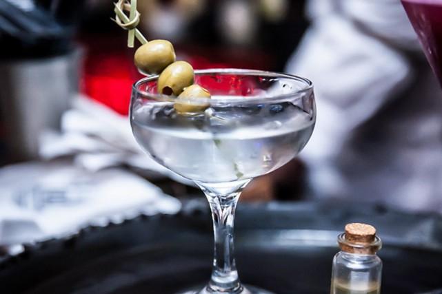 Un cocktail préparé au Lab Plateau.... (Photo tirée du site web de l'établissement)