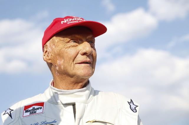 L'ancien triple champion du monde de F1 et homme d'affaires autrichien Niki... (Photo Erwin Scheriau, Archives AFP)