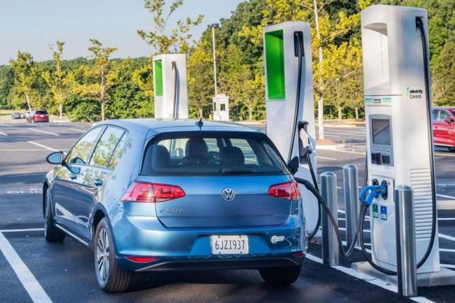 Volkswagen Canada se lance dans les bornes de... (Photo Volkswagen Canada)