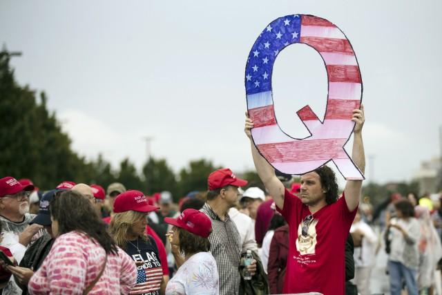 Le but de Q ? Mettre en garde... (Photo Matt Rourke, archives AP)