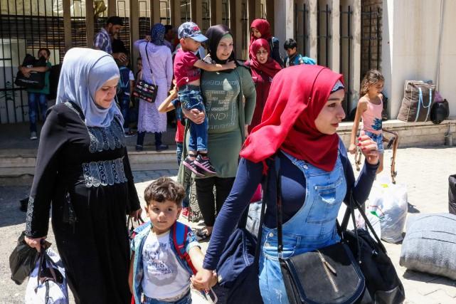 Déclenchée en 2011 par la répression de manifestations... (Photo Hassan Jarrah, Agence France-Presse)