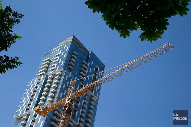 Avec la future grappe de l'industrie de la construction, annoncée lundi à... (PHOTO DAVID BOILY, ARCHIVES LA PRESSE)