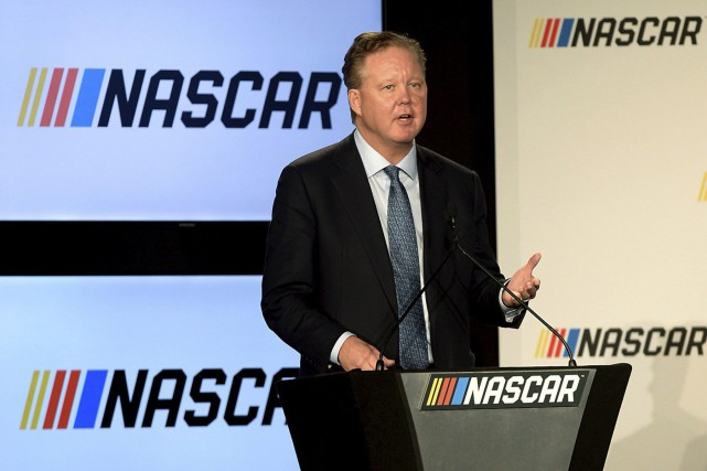 Brian France... (ARCHIVES AP)