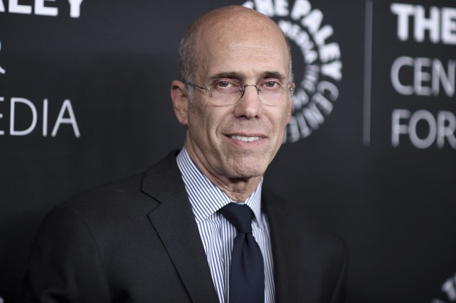 Jeffrey Katzenberg... (Photo Richard Shotwell, Invision via AP)