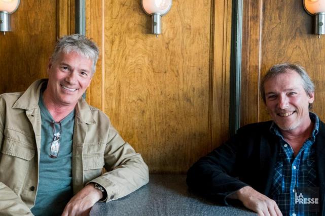 Guy et Louis Bélanger, respectivement musicien et cinéaste,... (Photo Marco Campanozzi, La Presse)