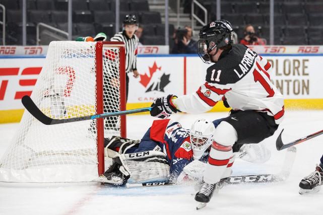 Alexis Lafrenière (11).... (Photo Codie McLachlan, La Presse canadienne)