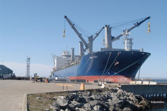 Le port de Matane... (Photo Le Quotidien)