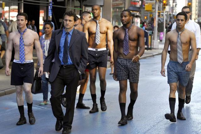 Les hommes qui veulent devenir père feraient mieux de porter le caleçon plutôt... (ARCHIVES AFP)