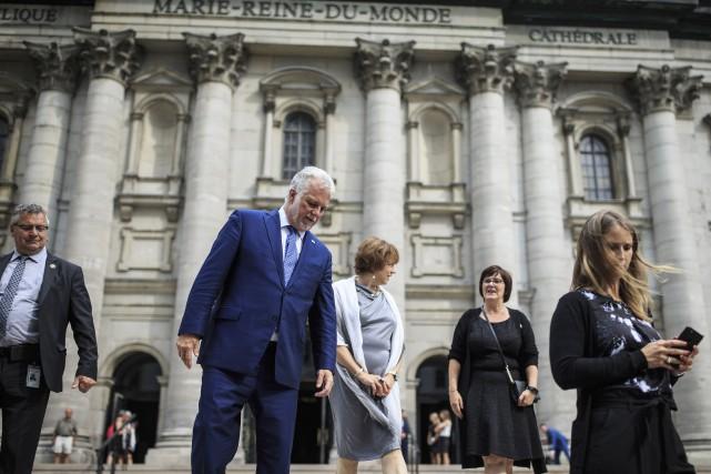 Le premier ministre Philippe Couillard a expliqué mercredi,... (PHOTO ÉDOUARD-PLANRE FRÉCHETTE, LA PRESSE)