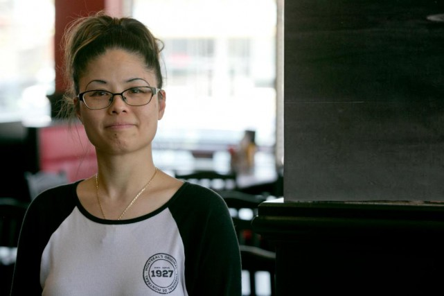 Wendy Leung, 41 ans, serveuse.... (Photo François Roy, La Presse)