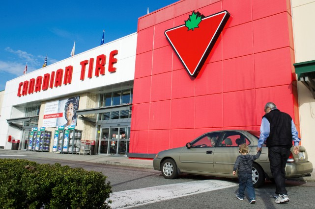 L'action de Canadian Tire a chuté jeudi de... (Photo Andy Clark, Archives Reuters)