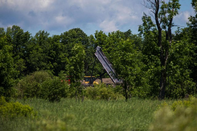 Pour le secteur des sols contaminés, le nombre... (Photo Martin Tremblay, Archives La Presse)