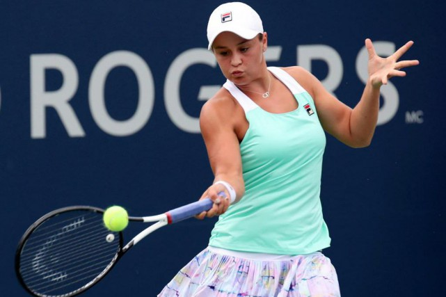 L'Australienne Ashleigh Barty a joué au cricket dans... (Photo Jean-Yves Ahern, USA Today Sports)