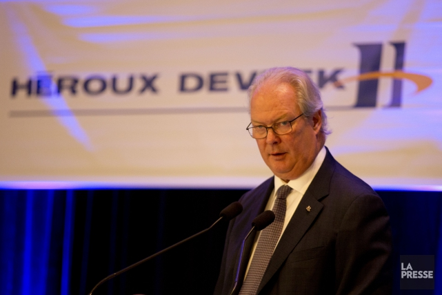 Le chef de la direction d'Héroux-Devtek, Gilles Labbé... (PHOTO FRANÇOIS ROY, ARCHIVES LA PRESSE)