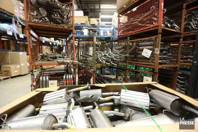 Le fabricant de pièces d'automobilesUni-Sélect a réalisé un... (PHOTO MARTIN CHAMBERLAND, ARCHIVES LA PRESSE)